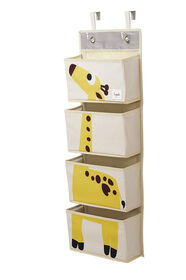3 Sprouts Hanging Wall Organizer - Giraffe.