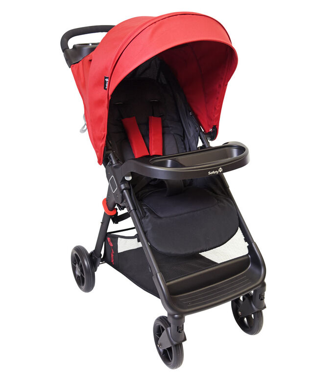 Systéme de voyage Smooth Ride LX de Safety 1st - Cherry Red.