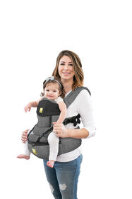 LILLEbaby SeatMe 3.0 All Seasons Carrier - Heathered Grey