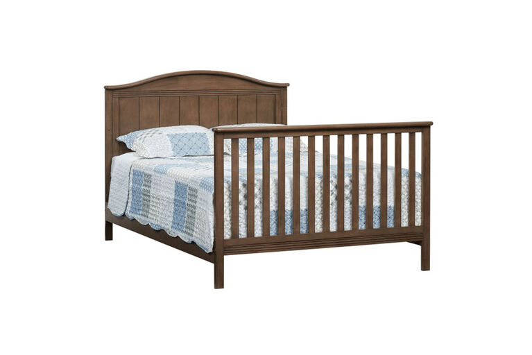 Oxford Baby Sienna 4 in 1 Convertible Crib w/ Drawer Acorn Brown - R Exclusive