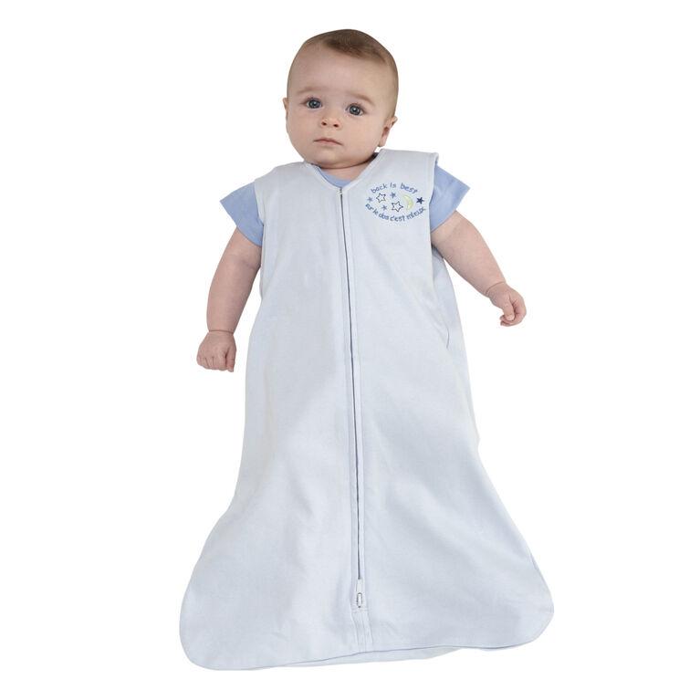 Sac de nuit SleepSack de coton - Bleu - Petit.