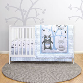 Belle Woodland Pals 3-Piece Crib Bedding Set - R Exclusive