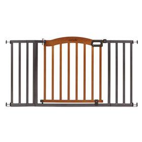 Summer Infant Barrière à pression décorative en bois et en métal de 5pi (1,5m).