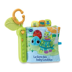 VTech Turtle's Busy Day Soft Book - French Edition