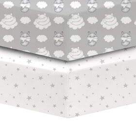 Koala Baby - Percale 2 Pk Mr. Fox