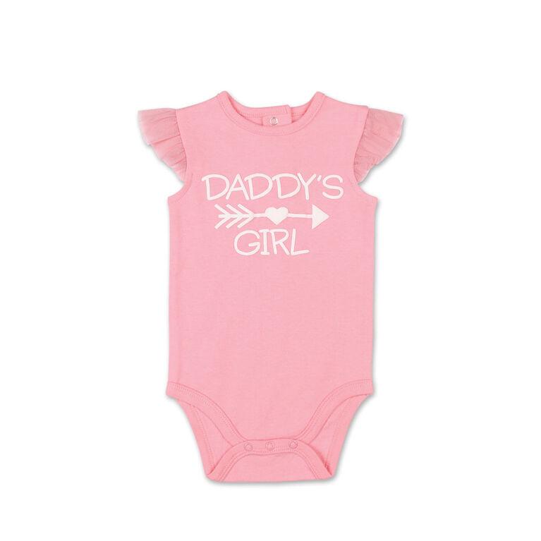 Combinaison avec volants aux manches Daddy's Girl Koala Baby - 0-3 mois