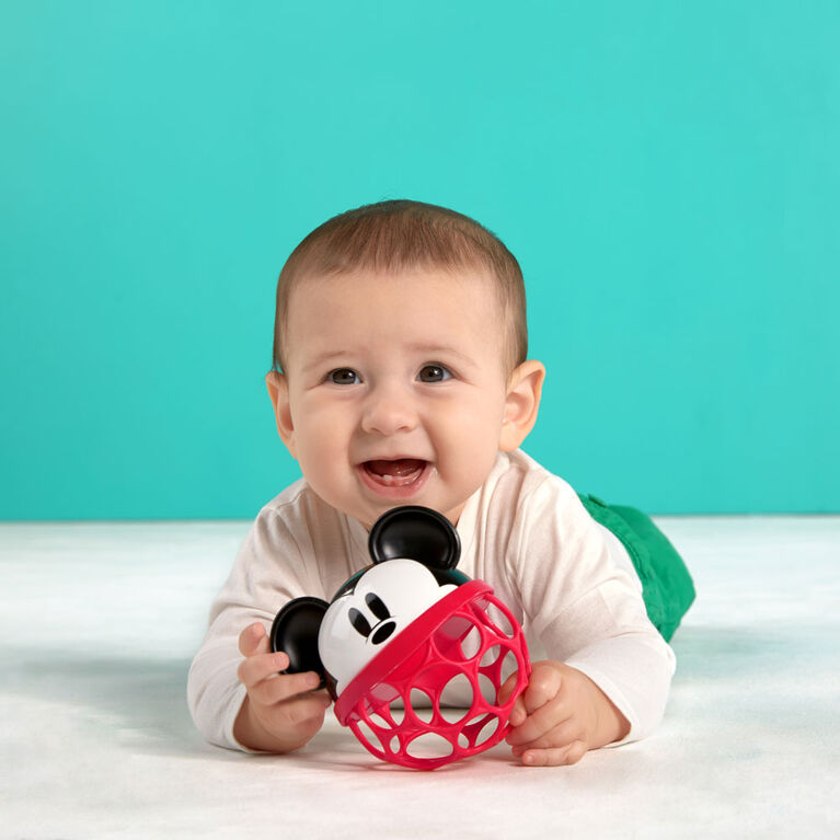 Disney Baby Mickey Mouse Rattle Along Buddy Easy-Grasp Toy