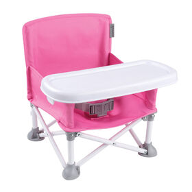 Summer Infant Pop N Sit Portable Booster - Pink