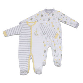 Koala Baby 2-Pack Sleeper - Giraffe-Bear, Newborn