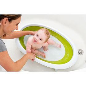 Boon Naked Collapsible Baby Bathtub - Green
