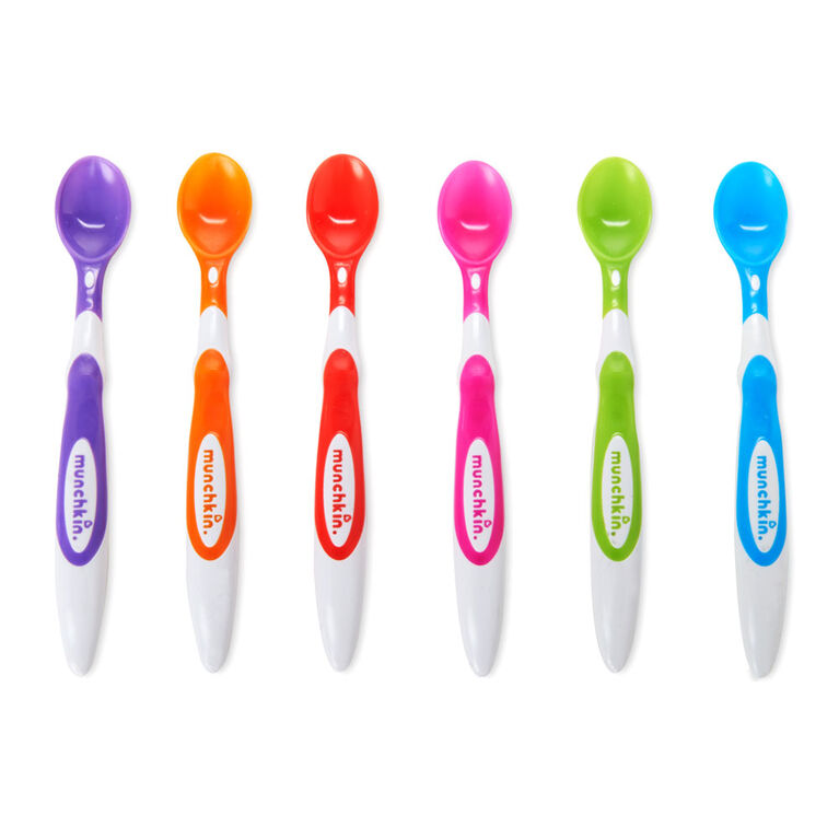 Munchkin - 6 Soft Tip Infant Spoons