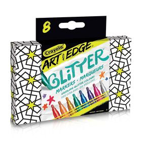 Crayola - Art With Edge 8ct Glitter Markers
