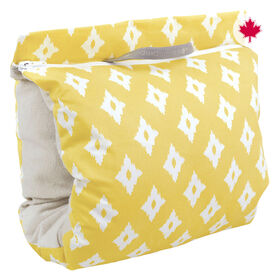 Perlimpinpin Nursing Muff- Diamonds Yellow