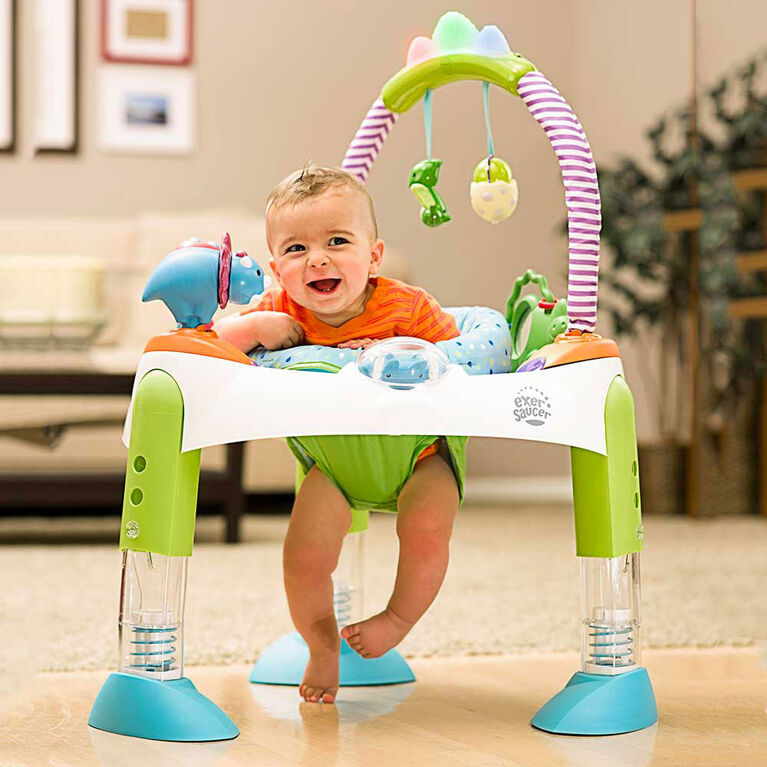Exersaucer Fast Fold & Go D Is For Dino