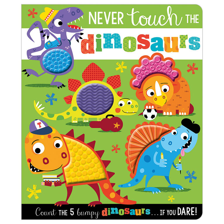 Ne jamais toucher aux dinosaures - Édition anglaise