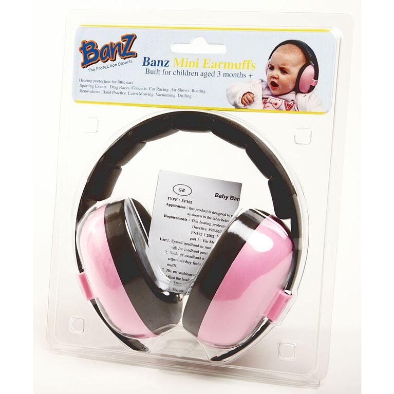 Baby Banz Mini Earmuffs - Pink