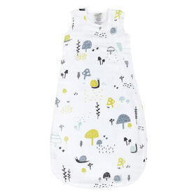 Sleepbag-Muslin-Allover Snails (0,7 Tog) 0-6 Months