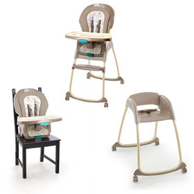 Ingenuity Trio 3-in-1 Deluxe High Chair - Sahara Burst.