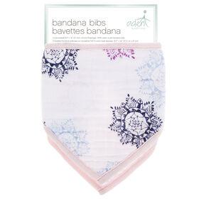 Aden Bandana Bibs - Pretty Pink
