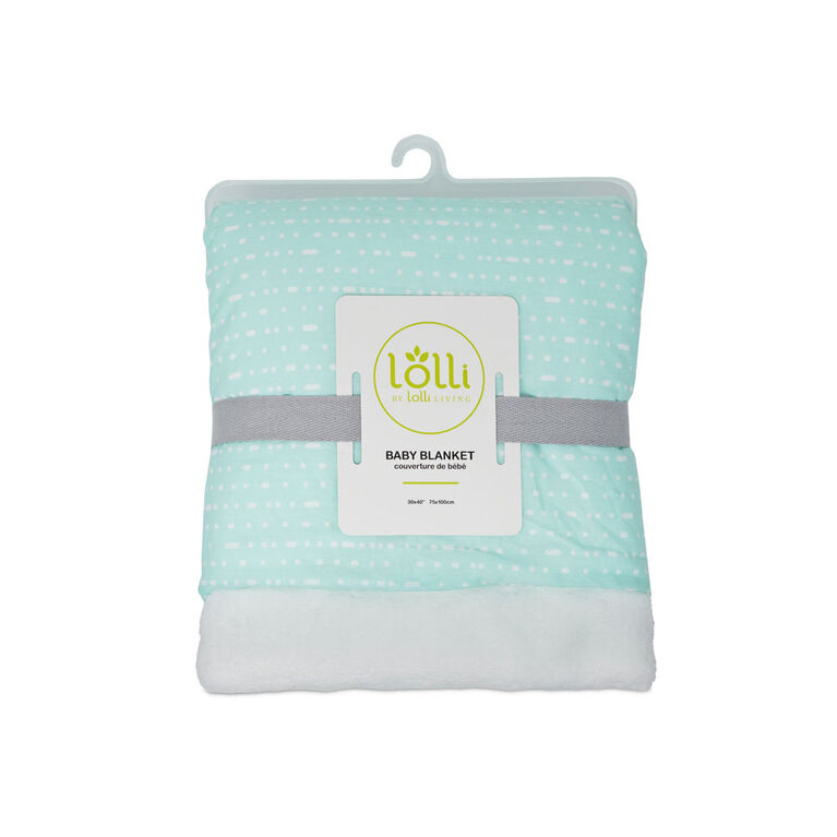 Lolli by Lolli Living Couverture de Bébé - Mint Rocks