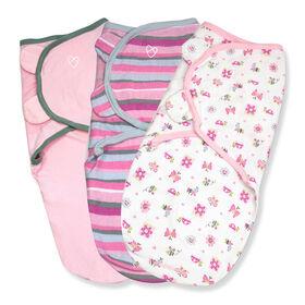 Summer Infant SwaddleMe Original Swaddle - Small/Med - 3 Pack - Bug