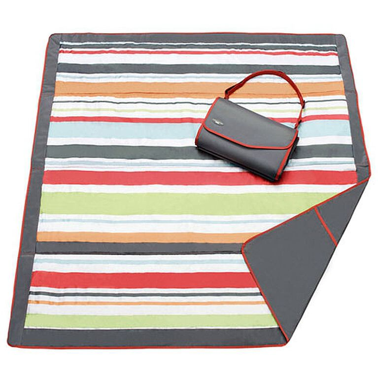 JJ Cole Essentials Blanket - Gray Red