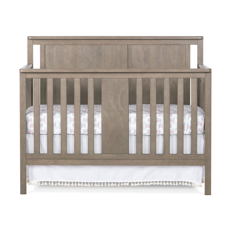 Forever Eclectic Quincy 4-in-1 Convertible Crib, Dusty Heather