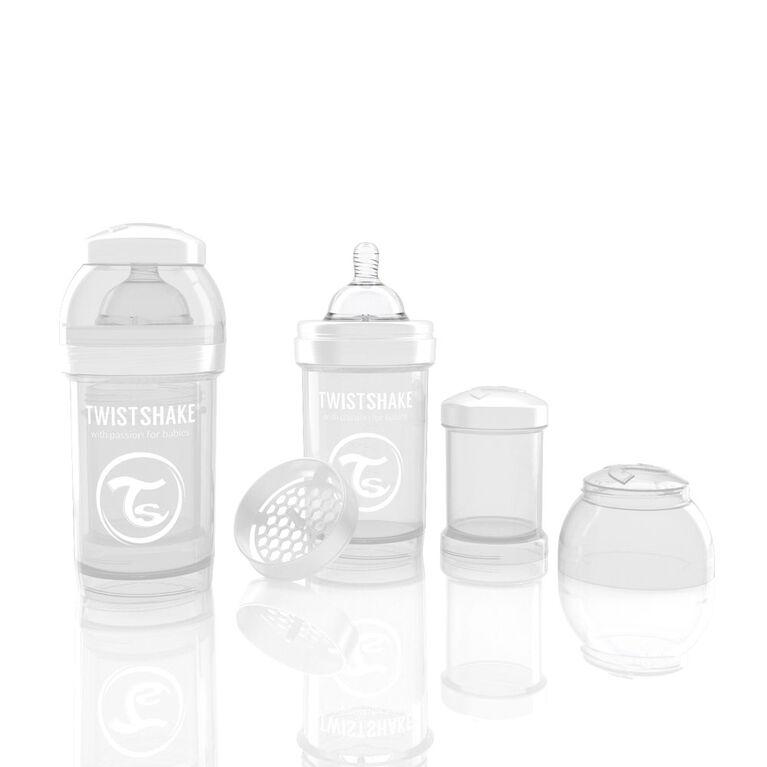 Twistshake Anti-Colic Bottle 180ML - White