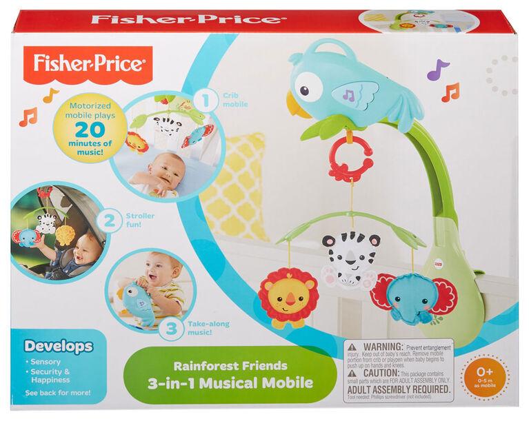 Fisher-Price - Mobile musical 3 en 1