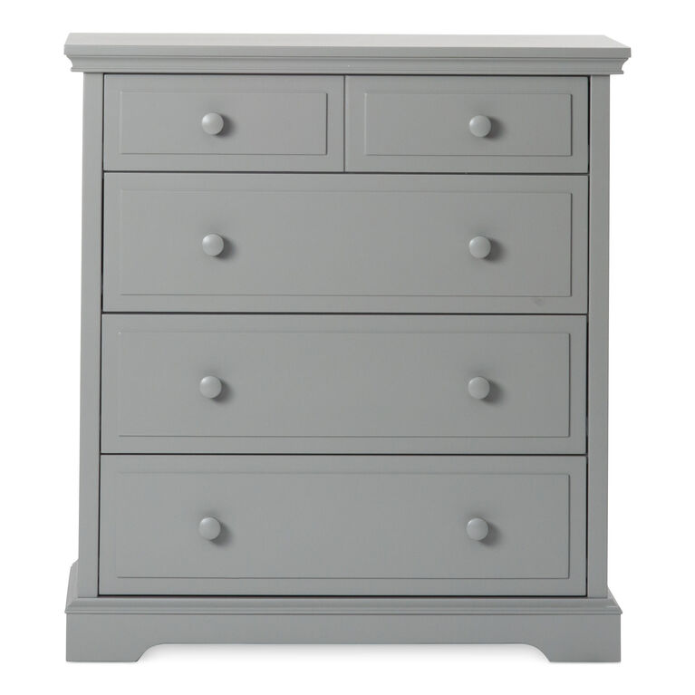 Child Craft Camden Ready to Assemble 4-Drawer Chest - Cool Gray