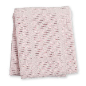 Couverture en cellular Lulujo - Rose.
