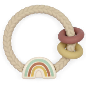 Itzy Ritzy Ritzy Rattle Neutral Rainbow