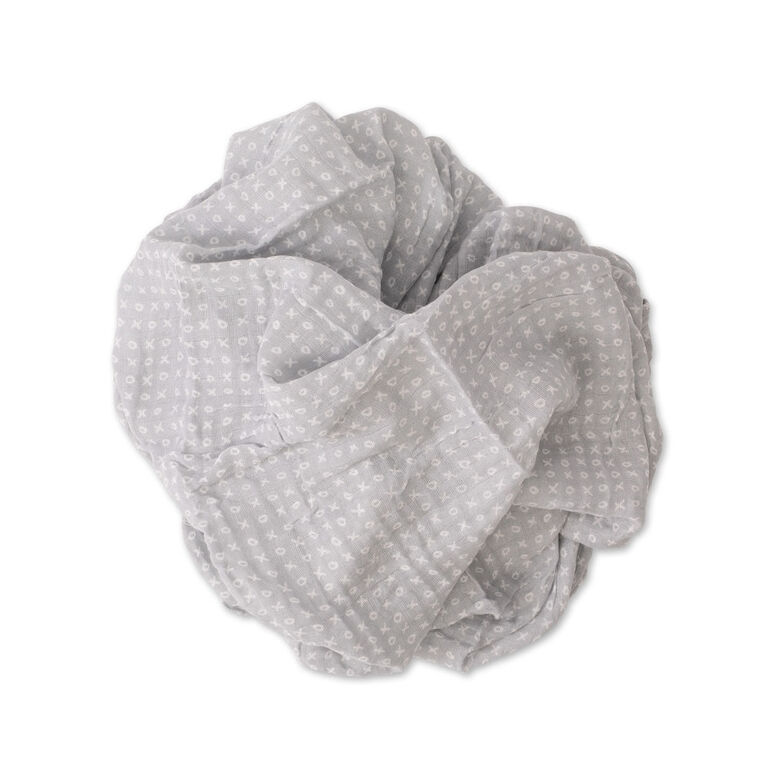 Red Rover - Cotton Muslin Swaddle Single - XOXO