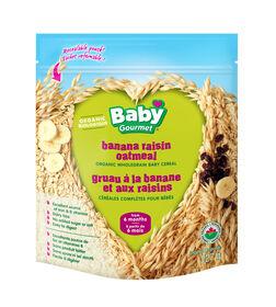 Baby Gourmet Banana Raisin Cereal