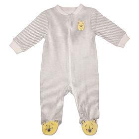 Disney Winnie the Pooh 1-Piece Sleeper - Natural, 12 Months