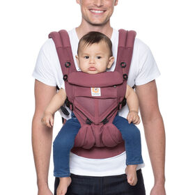 Ergobaby Omni 360 Cool Air Mesh All-in-One Ergonomic Baby Carrier - Plum