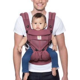 Porte-bébé ergonomique tout-en-un Ergobaby Omni 360 Cool Air Mesh- prune