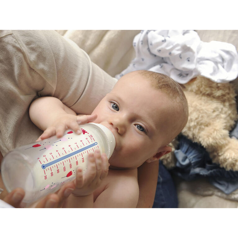 NUK Smooth Flow Disney Bottle, Mickey Mouse, 10 oz, 3 Pack, 0+ Months