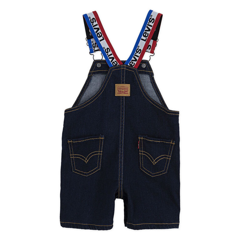 Levis Denim Shortall - Blue, 24 Months