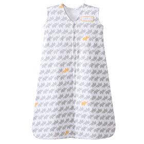 HALO SleepSack Wearable Blanket Cotton - Grey Elephant - Large
