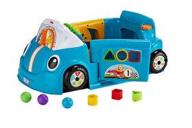 Fisher-Price - Laugh & Learn - Crawl Around Car Blue - English Edition
