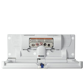 Foundations® Horizontal Surface Mount Baby Changing Station (EZ™ Mount Backer Plate Included)