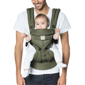 Ergobaby Omni 360 Cool Air Mesh All-in-One Ergonomic Baby Carrier - Khaki Green