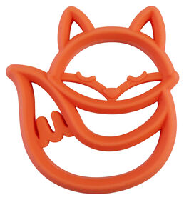 Itzy Ritzy Teething Happens Silicone Teether - Fox - English Edition