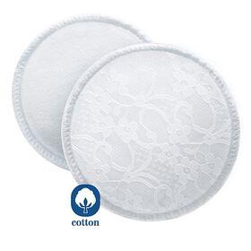 Coussinets d'allaitement lavables de Philips AVENT, paquet de 6.
