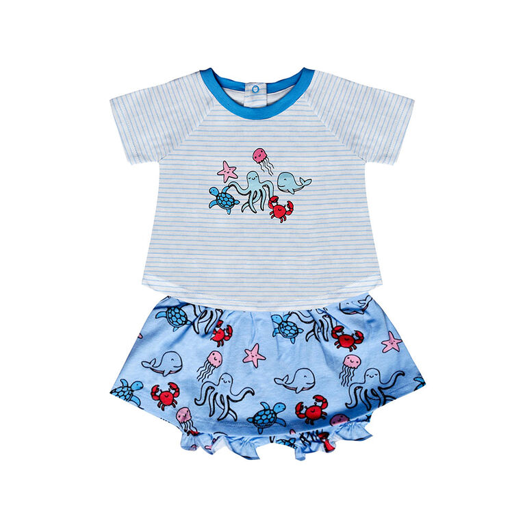 earth by art & eden Isadora 2-Piece Set- 9 months