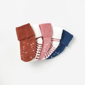 basic crew socks, 0-6m - socks  pink