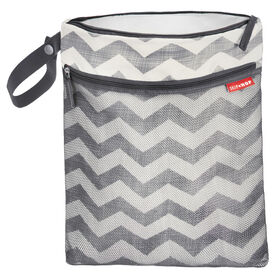 Skip Hop Grab & Go Wet/Dry Bag, Chevron