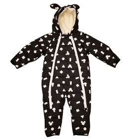Baby Boy Mickey Mouse Puffer Snowsuit 24 Months