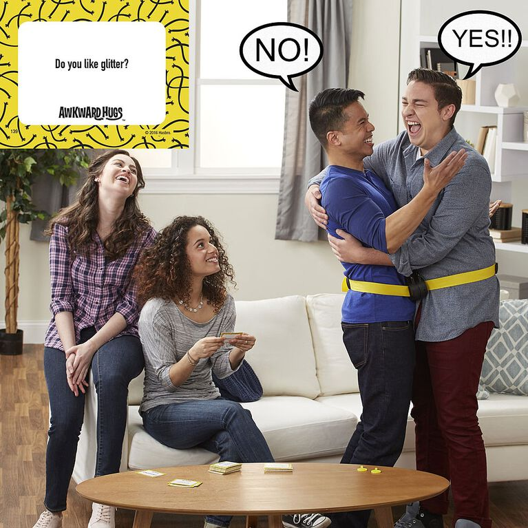 Hasbro Gaming - Awkward Hugs game